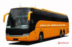 menuju ngopikere bus