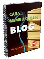 cara membukukan blog