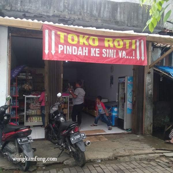 sehari wisata di rangkasbitung-toko roti sedap sari