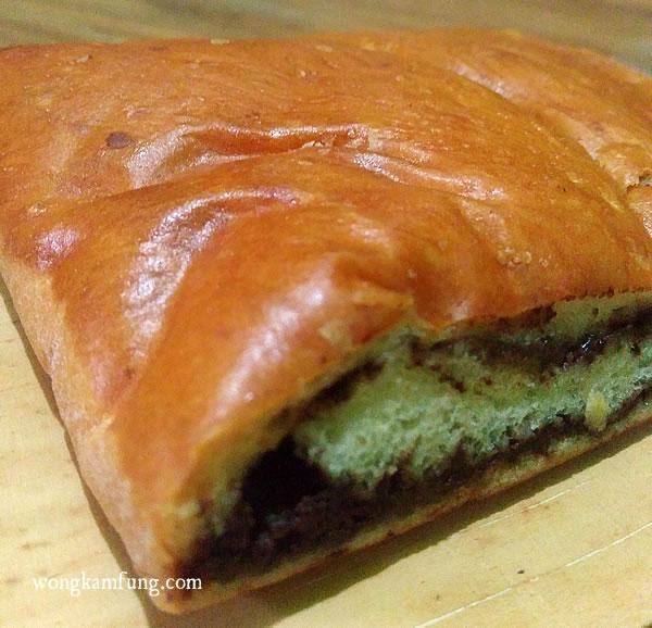 kuliner bogor roti kotak cokelat