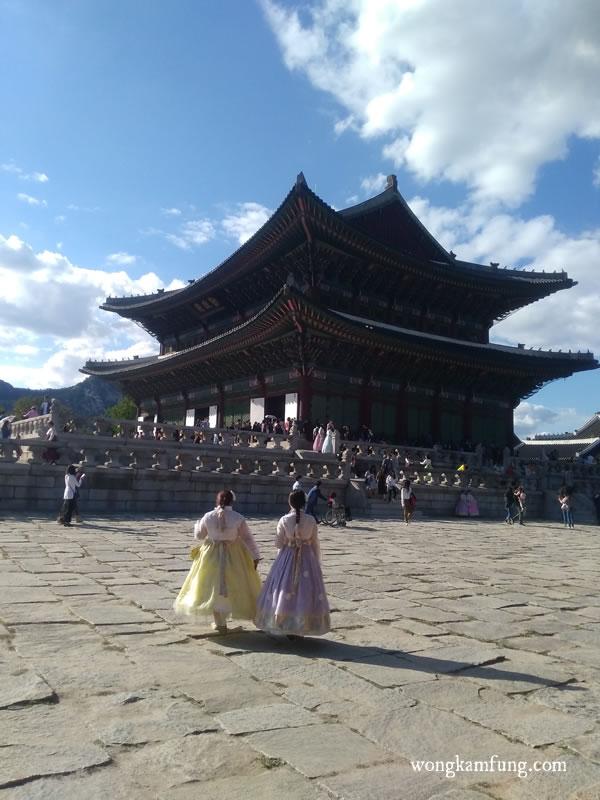 korea bukan indonesia - Gyeongbokgung Palace