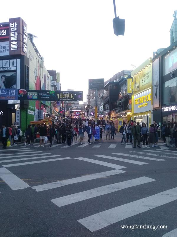 korea bukan indonesia - Hongdae