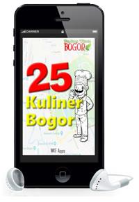 aplikasi android 25 kuliner bogor
